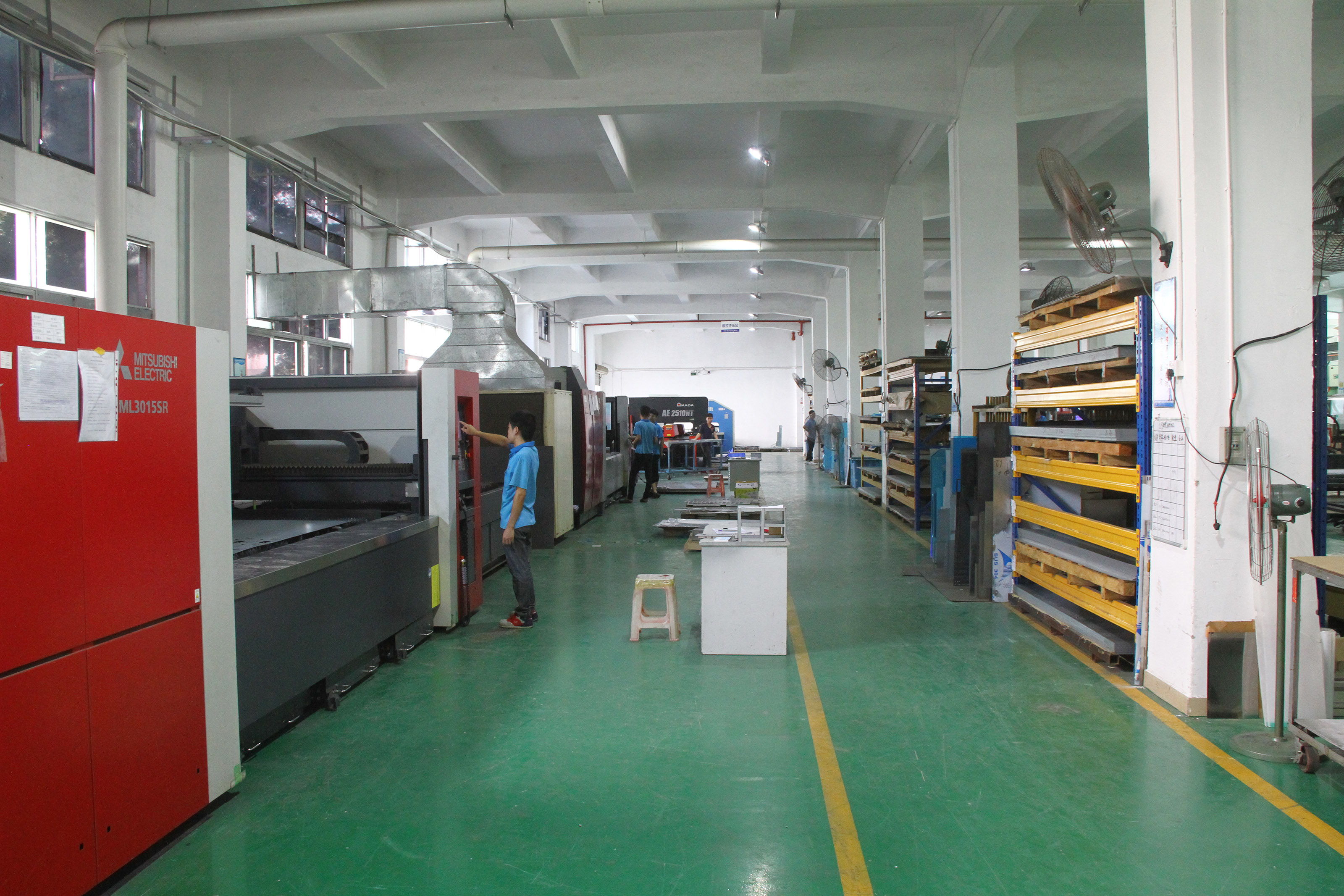 Superior laser cutting machine